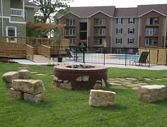 Courtyard, Terrace Green Apartments - Joplin, 0