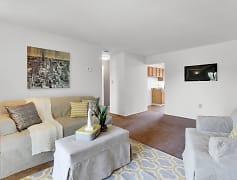 Living Room, Colonial Glen Apartments, 0