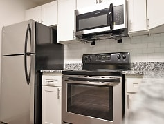 Kitchen with Stainless Steel and Granite