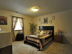 Bedroom, Heritage Apartments, 0