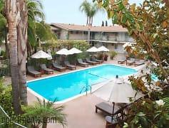 Pool, Palm Garden Apartments, 0