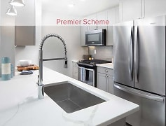 Premier Scheme Kitchen with Whirlpool Stainless Steel Appliances