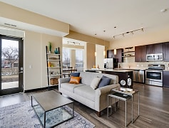 Living Room, One Southdale Place Apartments, 0