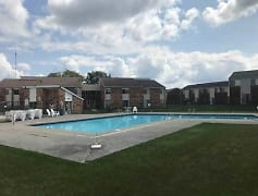Pool, Franklin Manor Apartments, 0