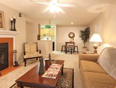 Living Room, Edgewood Apartments, 0