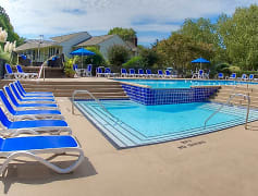 Pool, Huntington Apartments, 0