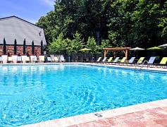 Take a refreshing dip in our salt-water swimming pool.