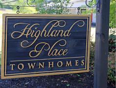 Community Signage, Highland Place, 0