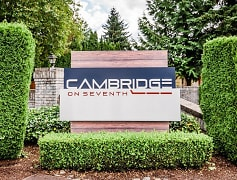 Puyallup Apartments - Cambridge on Seventh Apartments - Sign