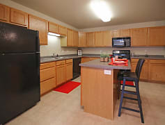 Kitchen, Boulder Apartments, 0
