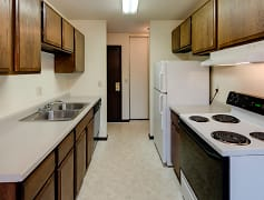 Kitchen, Lamplighter Village Apartments, 0