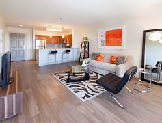 Living Room, The Residences at Munroe Place, 0