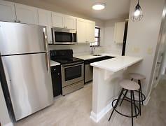 Kitchen, Shadyside Apartments, 0