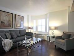 Living Room, Fountainbleau Apartments, 0