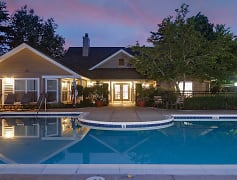 Outdoor pool and expansive sundeck