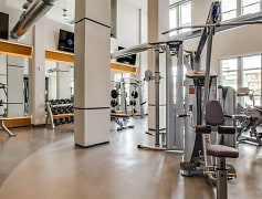 State of the art fitness center open 24/7.