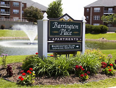 Community Signage, Barrington Place Apartments, 0