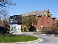 Community Signage, Furnished Studio - Indianapolis - Northwest - College Park, 0