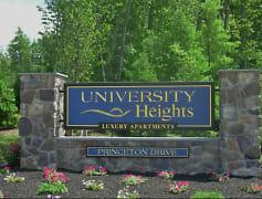 Community Signage, University Heights Apartments, 0