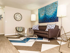 Sierra Canyon Apartments Model Living Room