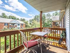 Patio / Deck, Pinewood Village Apartments, 0