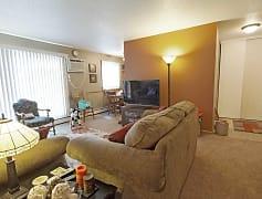 Living Room, Royal Oaks Apartments, 0