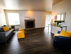 Living Room, River Pointe, 0