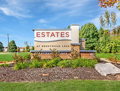 Estates At Brentwood Lake Community Sign