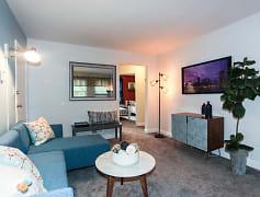 Living Room, Lothian & Oakridge Apartments, 0