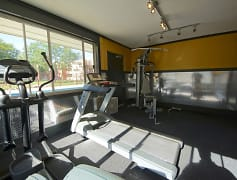 Stay in shape in our fitness center