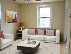 Living Room, King's Manor Apartments, 0