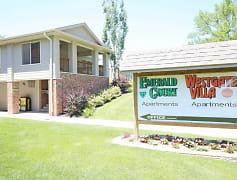 Community Signage, Emerald Court Apartments, 0