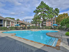 Resort-Style Swimming Pool at Westmount at Copper Mill Apartments in Houston, Texas