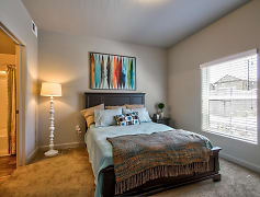 Bedroom, Riverfront Apartments, 0