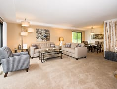 Living Room, Fox Forest Townhomes, 0