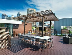 Sky Bar with City Views