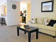 Living Room, Ashton Apartments, 0