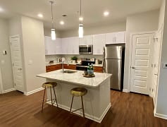 Designer Kitchen with Island at Hawthorne at the W