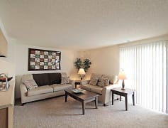 Living Room, Riverwalk Apartments, 0