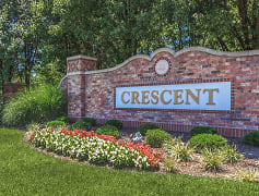 Community Signage, Crescent Apartments, 0