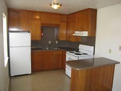 Kitchen, Monaghan Apartments, 0