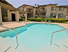 Pool, Sand Castle Apartments, 0