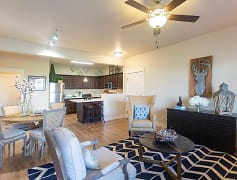 Living Room, Meadows at Park Avenue Apartments, 0