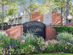 Windmill Landing Main Monument Sign