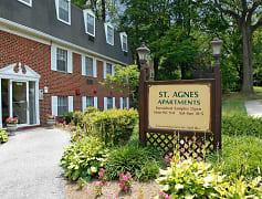 Community Signage, Saint Agnes Apartments, 0