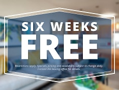 Six Weeks Free on Our BRAND NEW Apartment Homes! Call today!