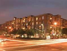 City Lights on Fig: Exterior at Night
