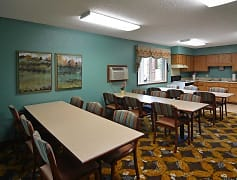 Clubhouse, Riverside Apartments, 0