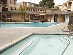 Pool, Peninsula Pines Apartments, 0