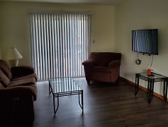 Living Room, 705 South First Street Apartments, 0